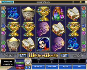Witches Riches Slot - Play for Free Instantly Online